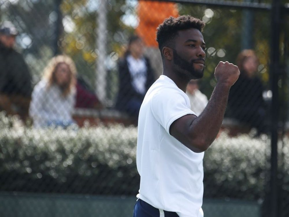 Sophomore Matthew Lord sealed Virginia's win over Georgia Tech Friday with a singles victory.