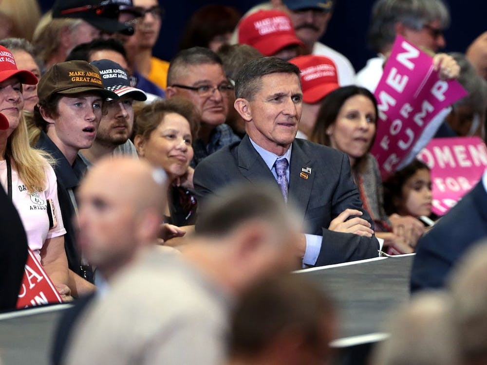 From Nov. 2016 to Jan. 2017, Flynn had an influential role in President-elect Trump's transition team and later briefly served as National Security Advisor.