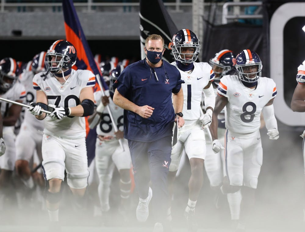 <p>&nbsp;The Cavaliers seek their first road win in nearly two years against Miami Thursday night.</p>