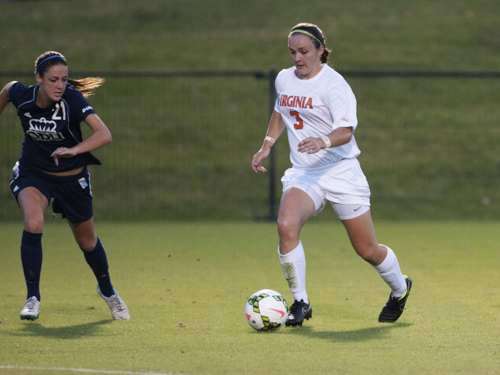 Freshman defender Morgan Reid scored her first career goal in the eighth minute of Wednesday night's contest against Old Dominion, finding the netfrom just inside midfield.