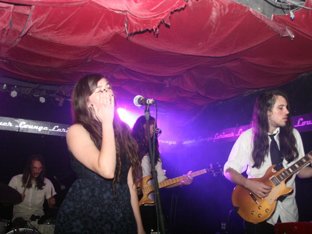 """Host"" is the songwriting debut of Madeline Follin, one half of the duo including her and Brian Oblivion that make up Cults."