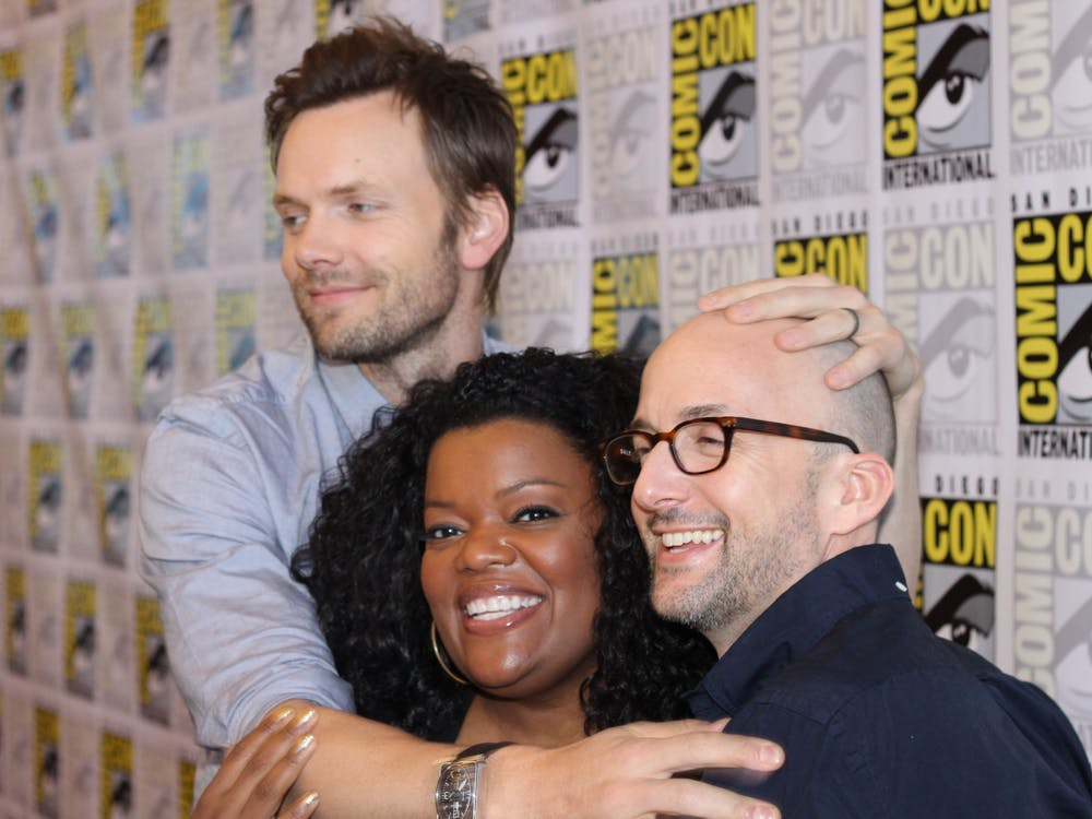 "Joel McHale, Yvette Nicole Brown and Jim Rash helped make up the ensemble of the charming NBC sitcom ""Community."""