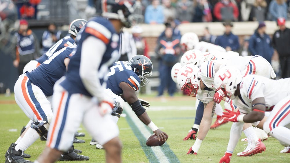 The offensive line's performance will be critical if Virginia wants to beat Virginia Tech.