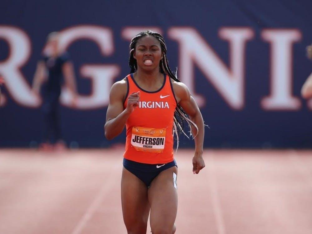 Junior Anna Jefferson won the 100 meter and 200 meter dashes at the Fred Hardy Invitational.