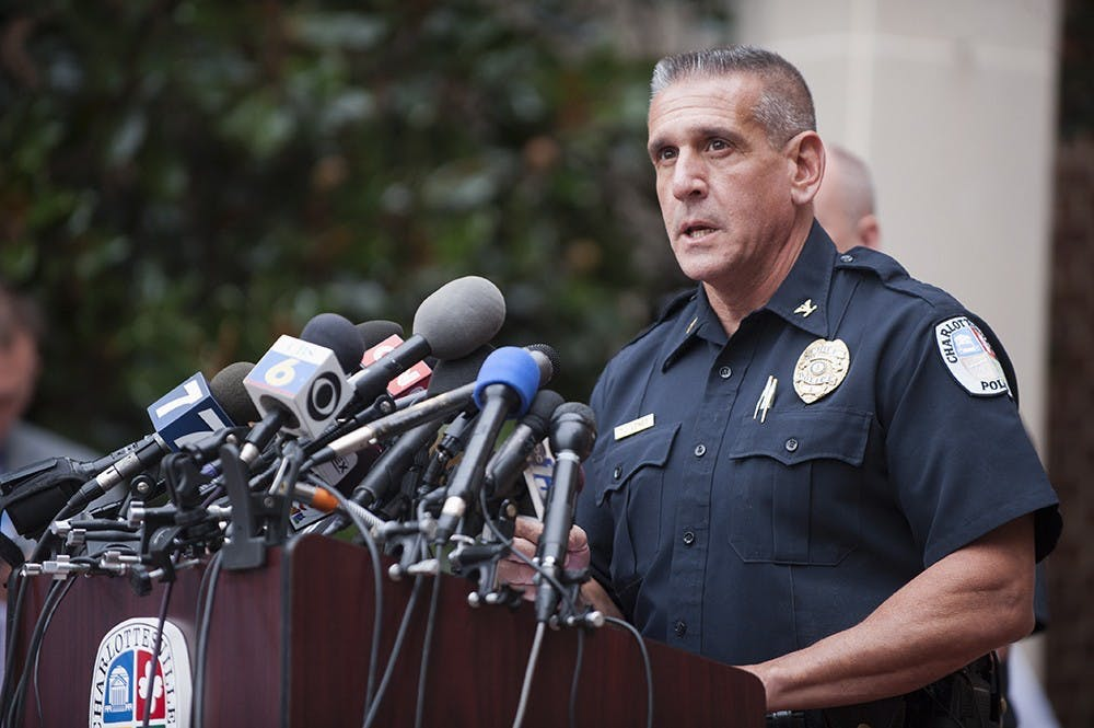 Prior to his employment at the University, Longo served as Charlottesville's chief of police from 2001 to 2016.