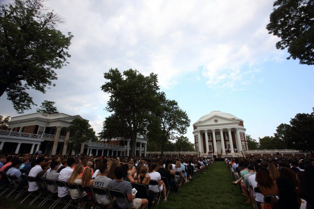 <p>The Class of 2021 at Fall Convocation.</p>
