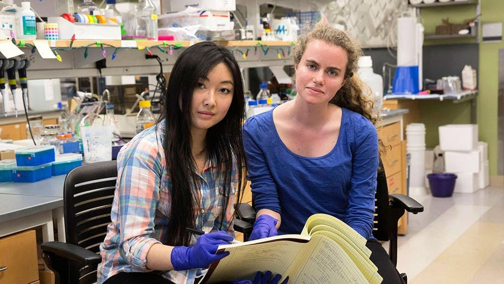 This year, second-year Engineering student Ana Untaroiu and second-year College student Lucy Jin won the awards and will receive $21,000 in stipend and travel for two summers and one academic year.