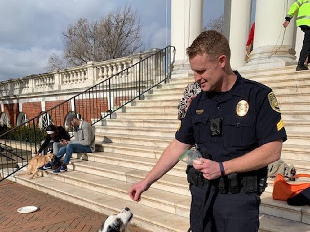 Rexrode plans to bring Cooper when working with crime victims or students that have experienced serious trauma, so he can serve as a stress-reliever or relaxer for these students.
