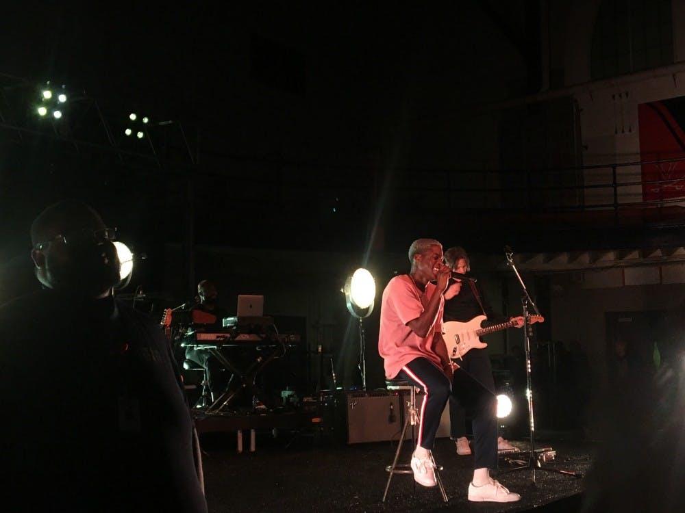 Canadian R&B soul singer Daniel Caesar headlined UPC's Springfest this year.