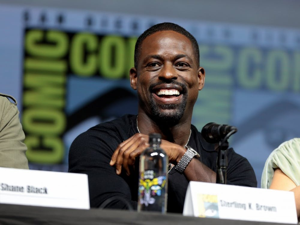 """Sterling K. Brown, seen here at San Diego Comic Con in 2018, is the well-intentioned but overbearing Ronald in """"Waves,"""" which played at the Virginia Film Festival Thursday."""