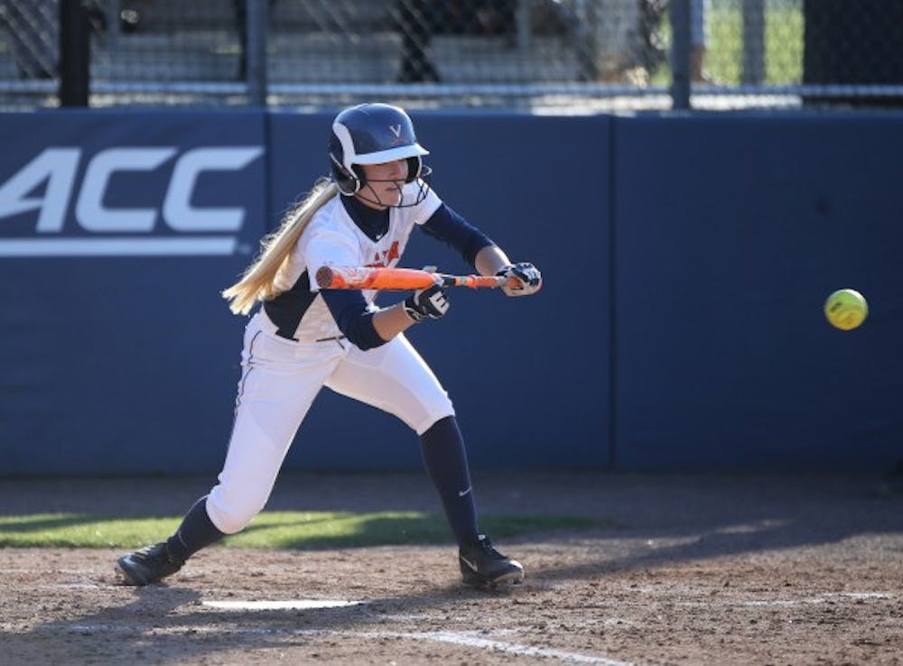 <p>Senior middle infielder McKall Miller hit her third home run of the young season this weekend.</p>