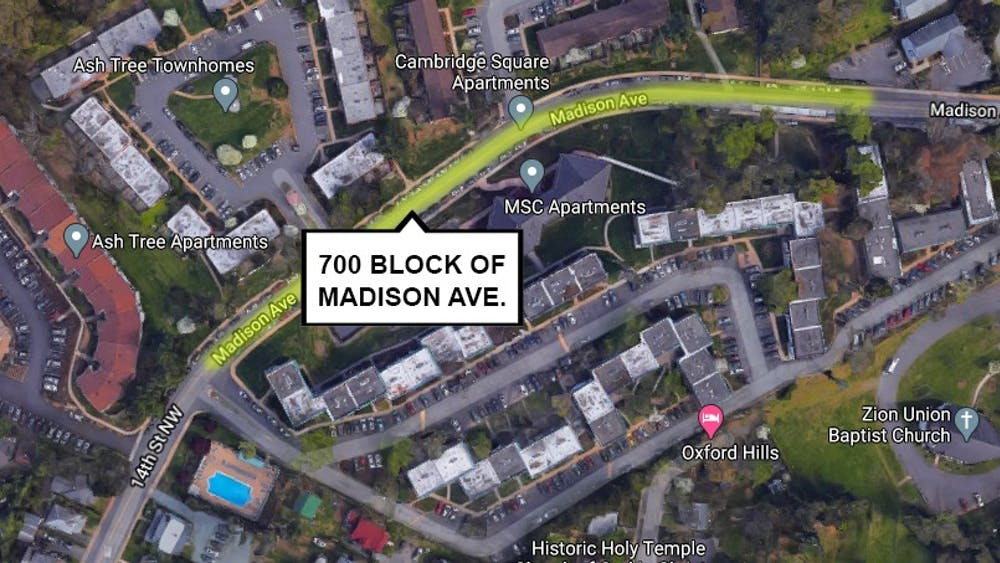 A man abducted at gunpoint a woman walking on the 700 block of Madison Avenue at approximately 10:15 p.m. Thursday, near several apartment complexes popular among University students.