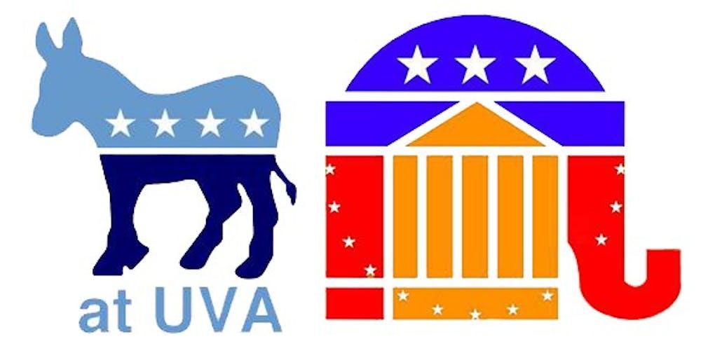 nsuvapoliticalorgscourtesyuniversitydemocratsatuvaandcollegerepublicansatuva