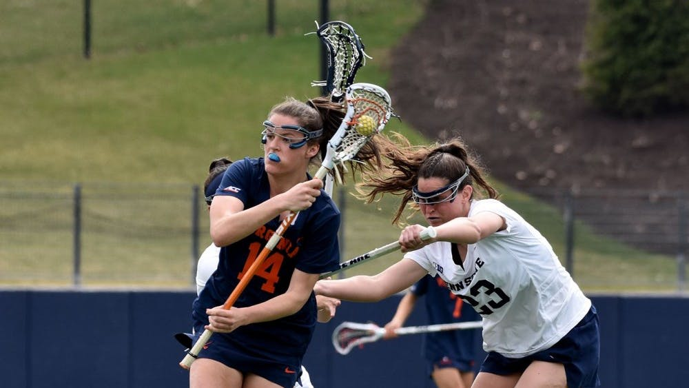 Senior midfielder Maggie Jackson scored 30 goals and posted a team-high 34 assists for the No. 7 Virginia women's lacrosse team this season.