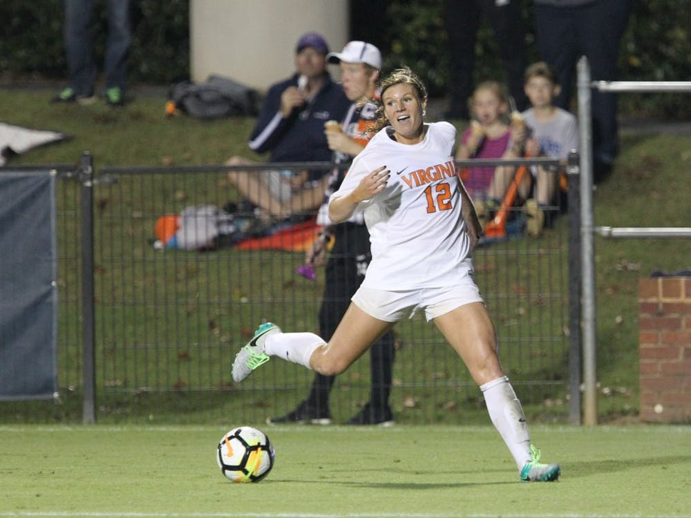 Forward Veronica Latsko was selected 28th overall by the Houston Dash.