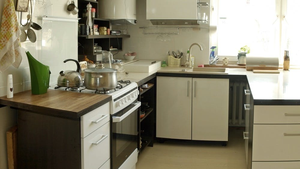 A few, small changes can keep your cooking space clean and organized.