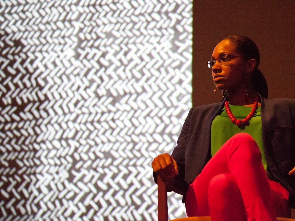 LaToya Ruby Frazier, who spoke in a virtual event hosted by the Department of Art, pictured in 2011.