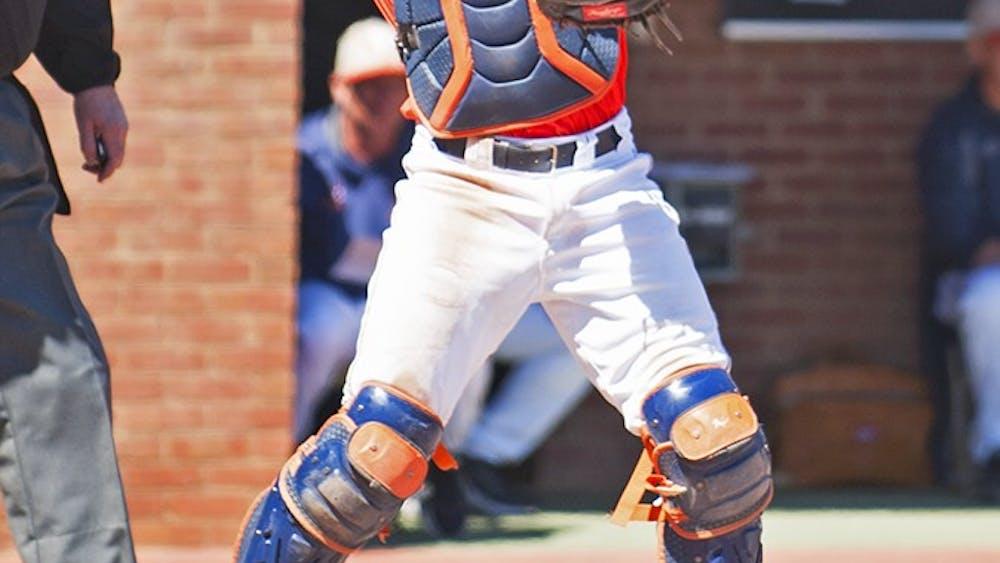 Junior catcher Matt Thaiss is helping propel a strong Virginia offense.