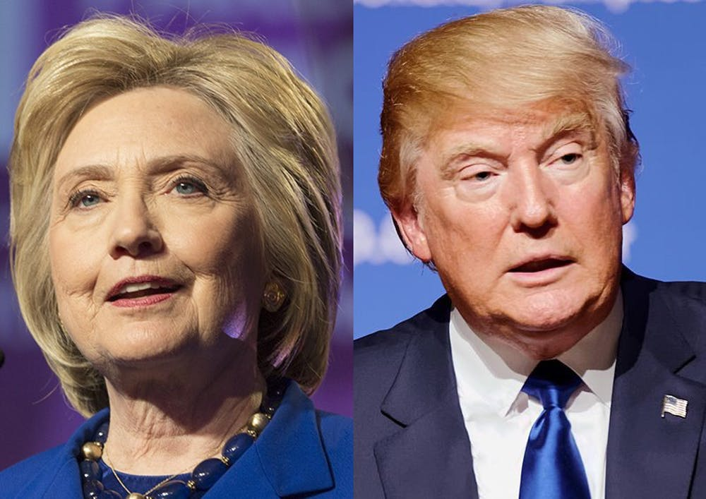 <p>Of registered voters who said they planned to vote, 67 percent said they would vote for Clinton, while 9 percent percent said they would vote for Trump.</p>