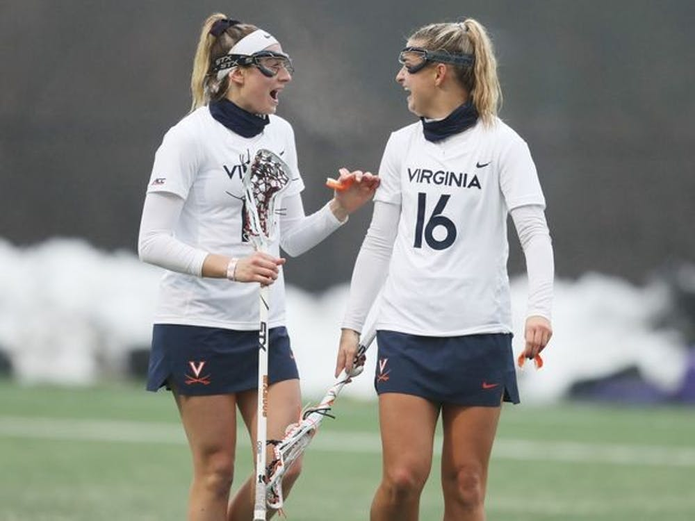Junior attacker Ashlyn McGovern (right) posted an impressive hat trick against Richmond this past Friday.