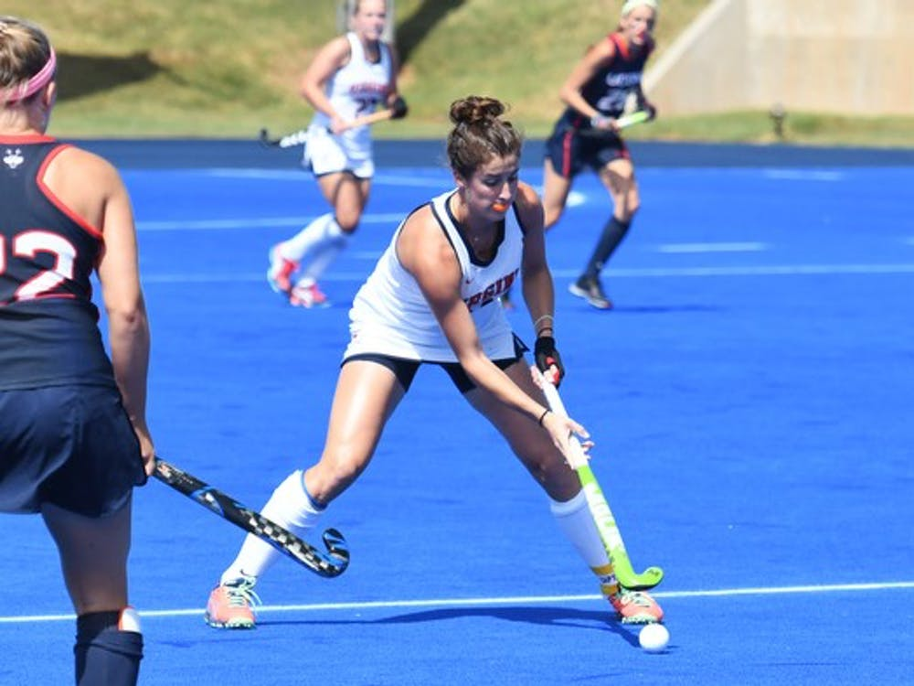 Junior midfielder Tara Vittese scored a goal against Princeton, but she and the Cavalier offense went cold in an 8-0 loss against UConn.