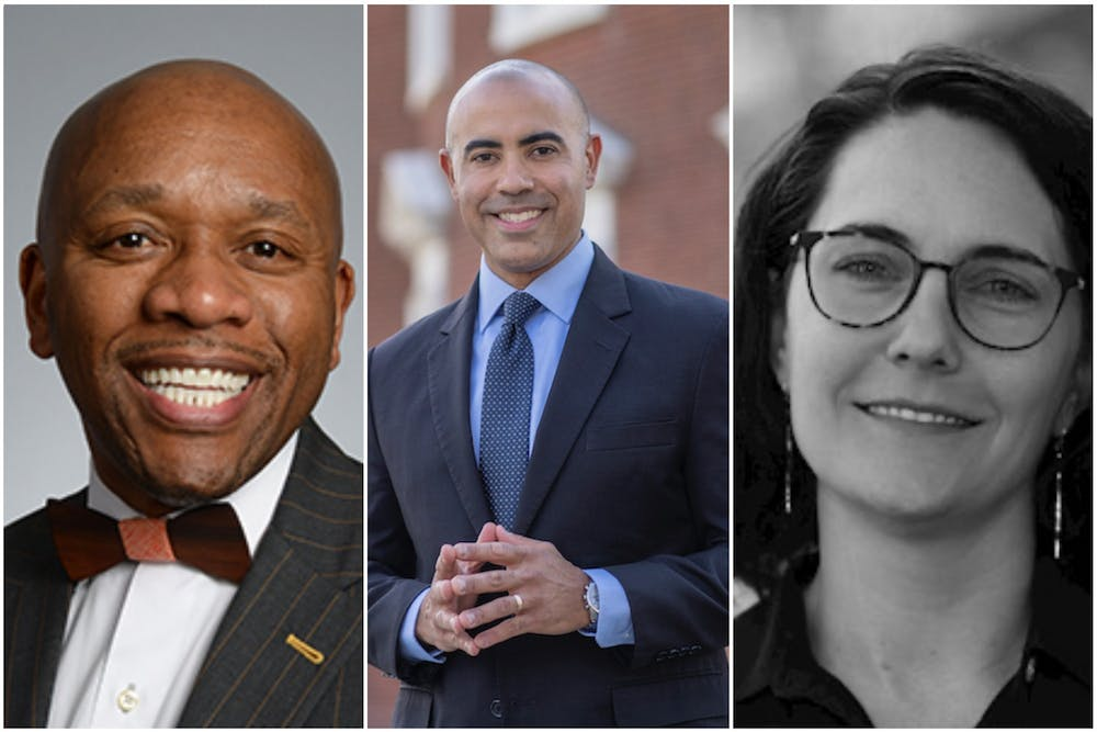<p>The task force includes Kevin McDonald, vice president for diversity, equity and inclusion; Ian Solomon, dean of the Batten School; and Barbara Wilson, an assistant professor in the School of Architecture and faculty director of the Equity Center.</p>
