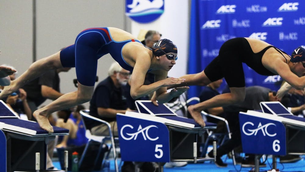 Douglass currently holds three all-time individual school records — the 50-meter freestyle, 100-meter butterfly and 200-meter medley — as well as the 200-meter medley relay record with her teammates.