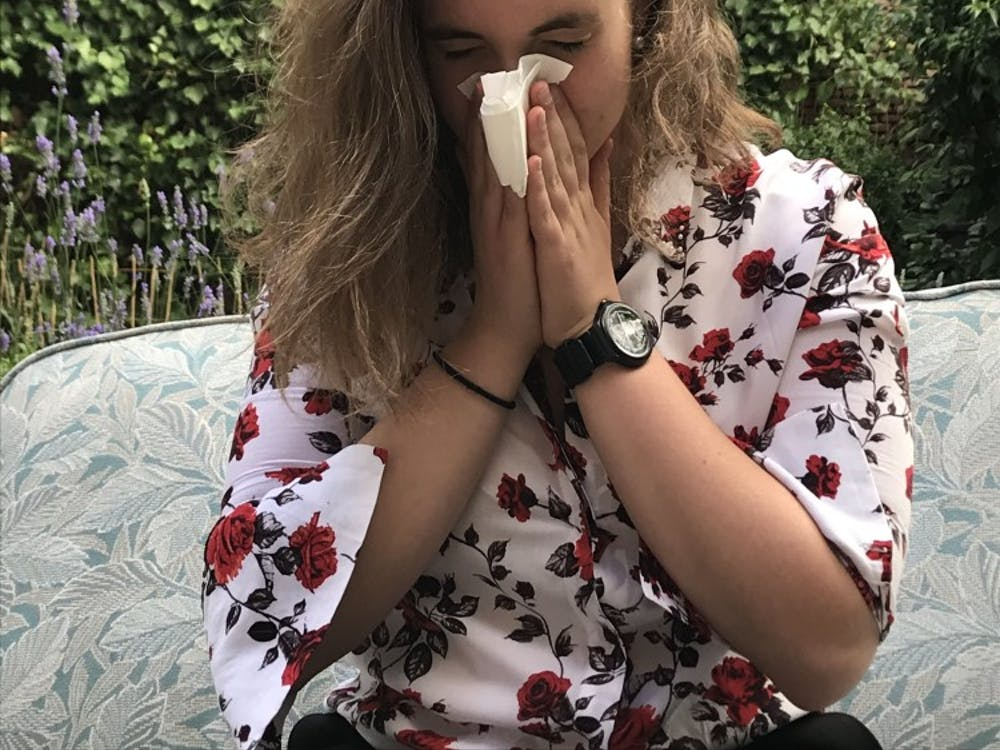 Upper respiratory infections and fever are common cases of illness for students traveling abroad.