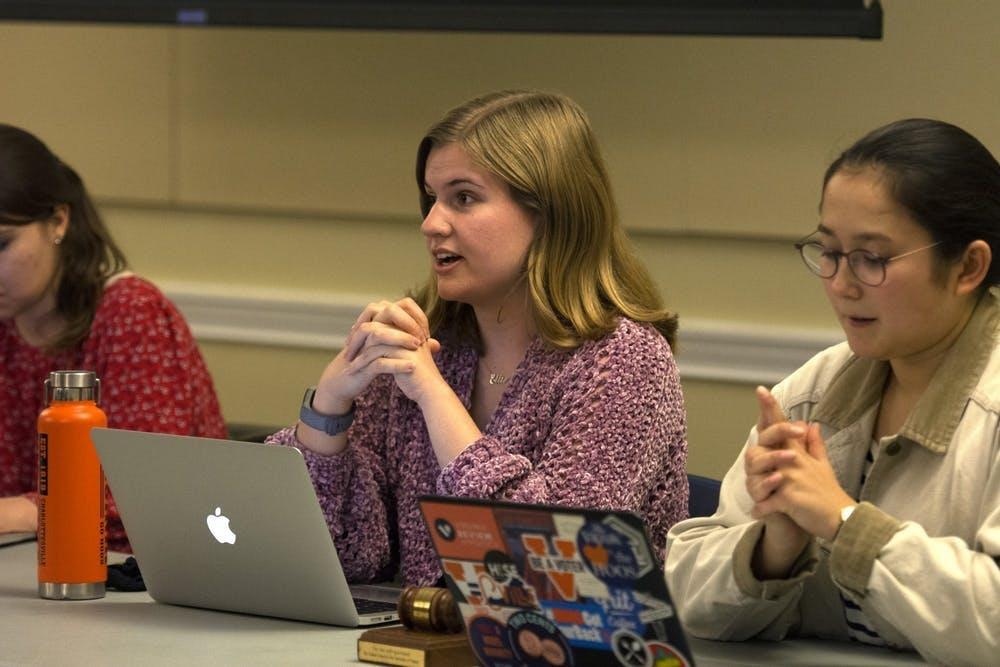 Ellie Brassacchio fue elegida la presidenta del consejo estudiantil en febrero.