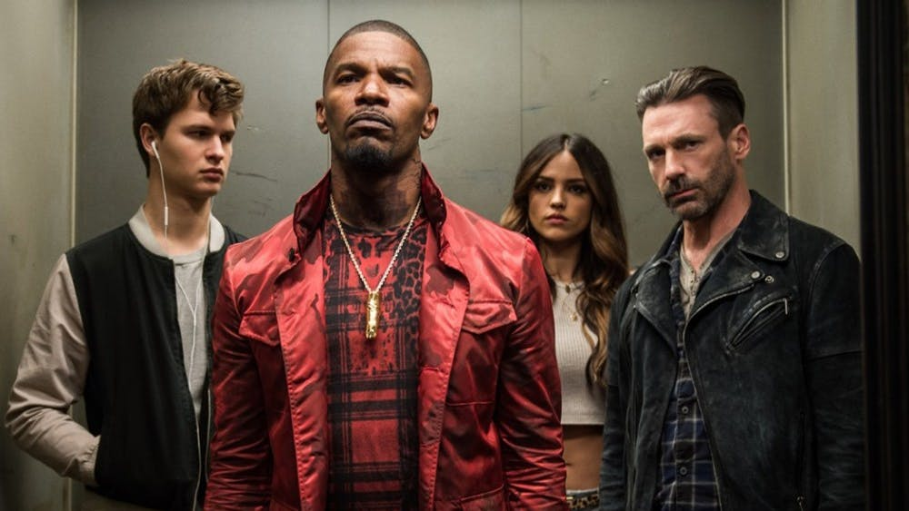 """The trailer for """"Baby Driver"""" promises a good time with a star-studded cast."""