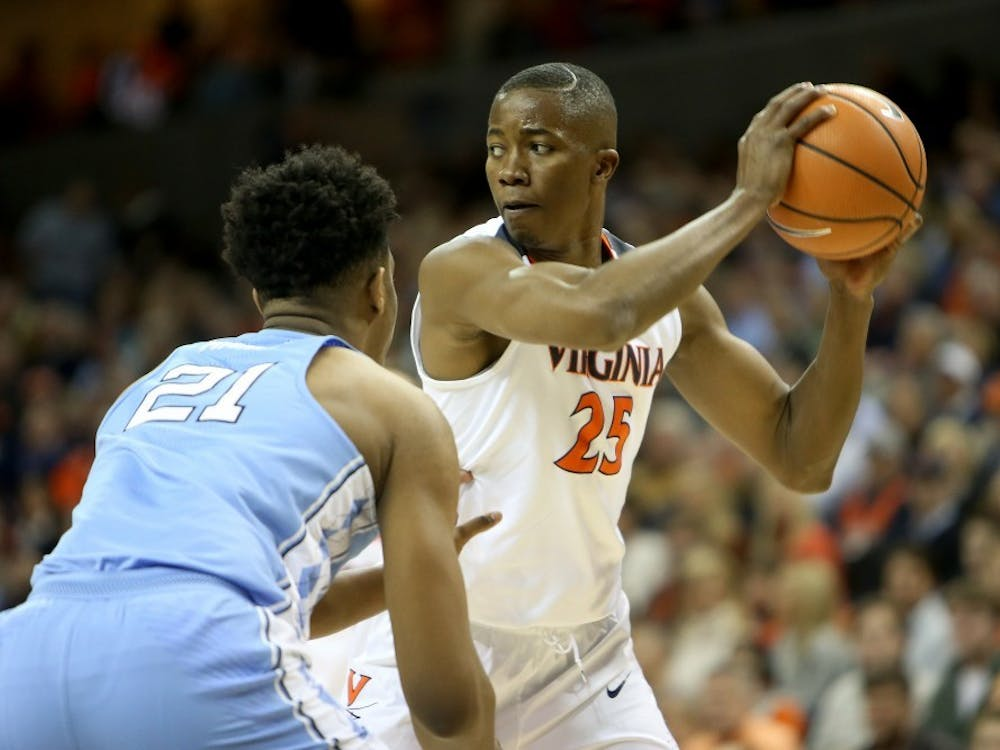 Junior forward Mamadi Diakite tied his career-high of 18 points against Boston College Wednesday night.