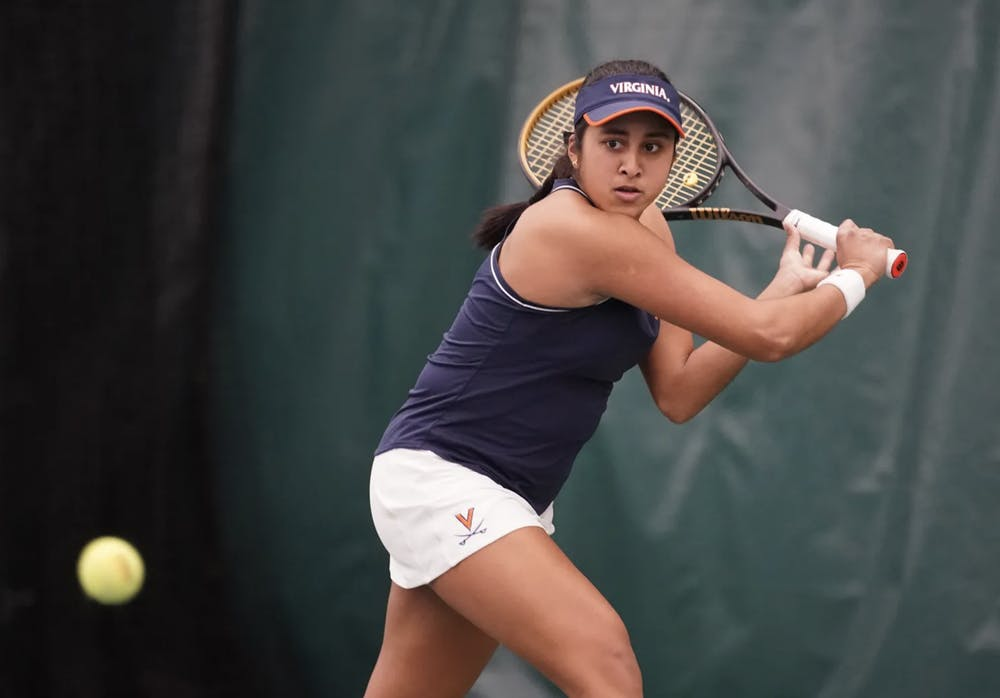 <p>Subhash has been outstanding this season, currently ranking ninth in the country in singles and winning 11 of her 13 ACC matches.&nbsp;</p>