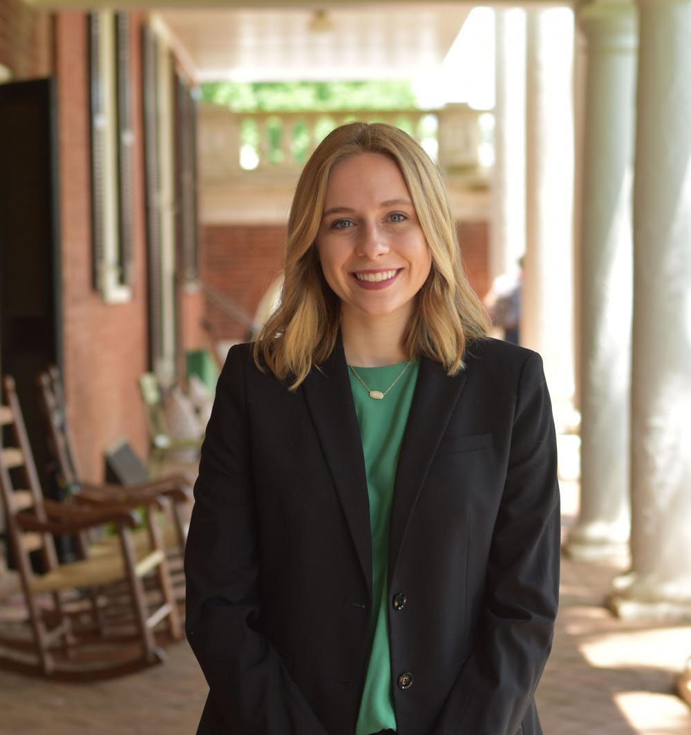 <p>Gracie Kreth was the Editor-in-Chief for the 130th term of The Cavalier Daily. Prior to this, she served as Assistant Managing Editor for the 129th term and Life Editor for the 128th term.</p>