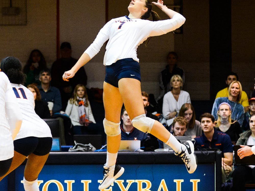 Senior right-side hitter Jelena Novakovic is currently second in the ACC with 41 aces.