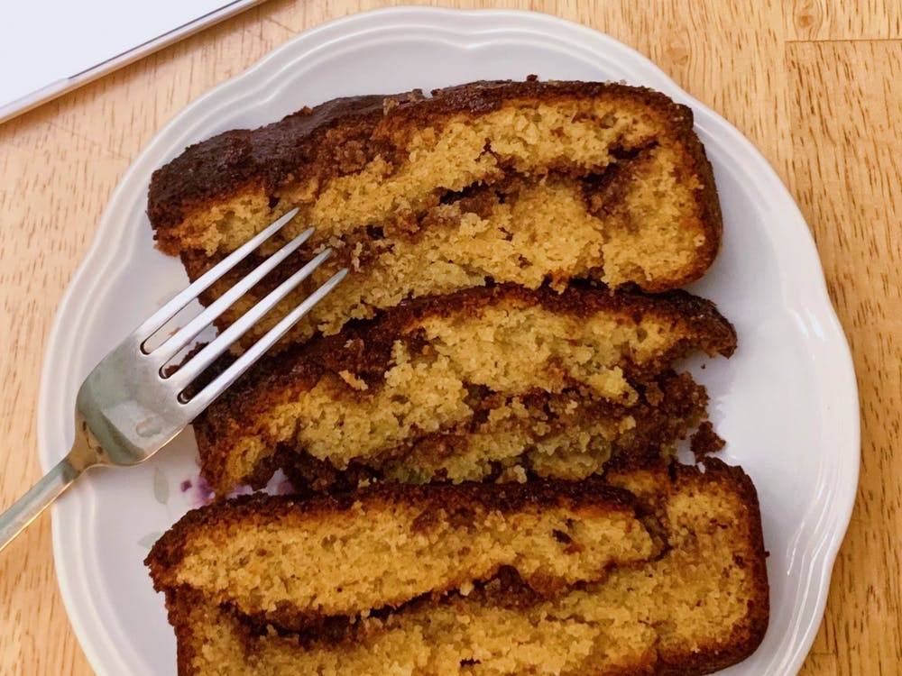 If baked correctly, the bread should be light and airy and the honey and cinnamon mixture should have melted into the bread so there is a subtle sweet flavor in every bite.
