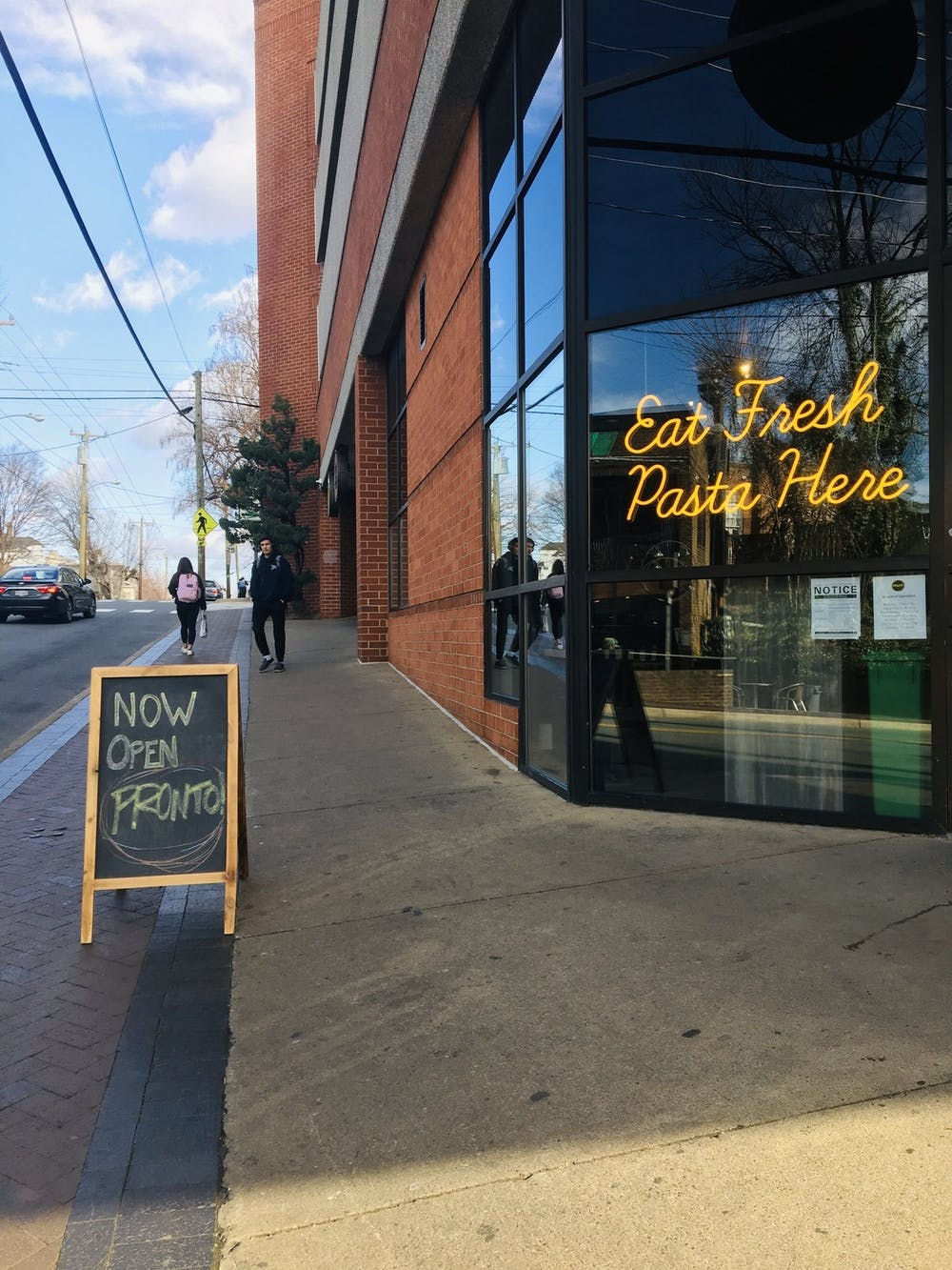 <p>Pronto! is the new go-to pasta place on the Corner.</p>
