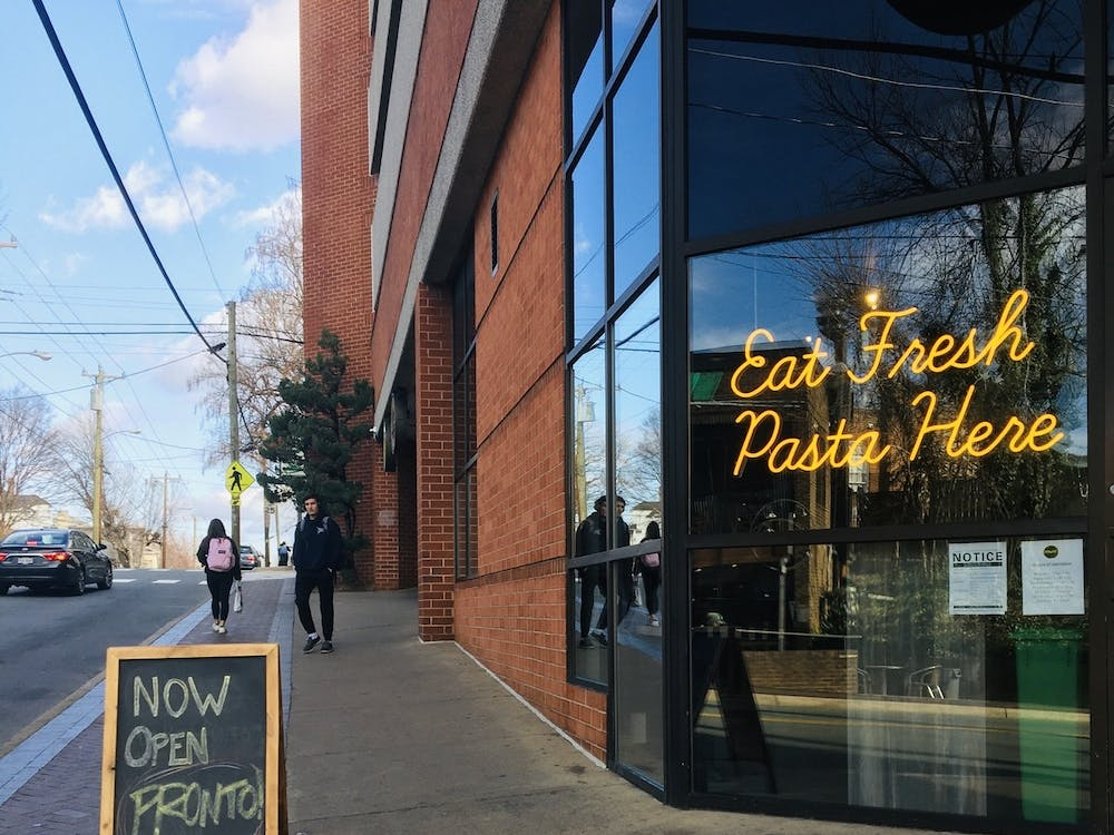 Pronto! is the new go-to pasta place on the Corner.