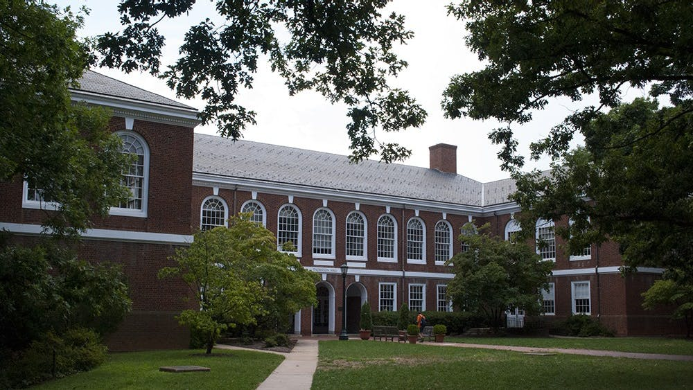 Many of the Engineering Schools' classes occur in Thornton Hall, above.