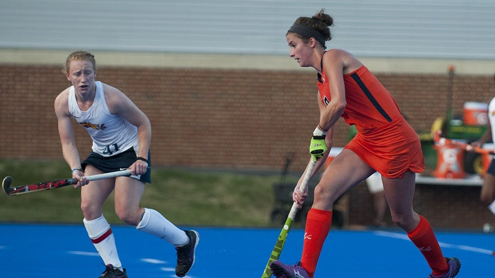 Sophomore midfielder Tara Vittese scored twice in the win against the Cardinals. She leads Virginia in scoring this season.