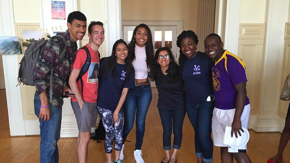 Students came together to celebrate Student Council's Diversity Week.