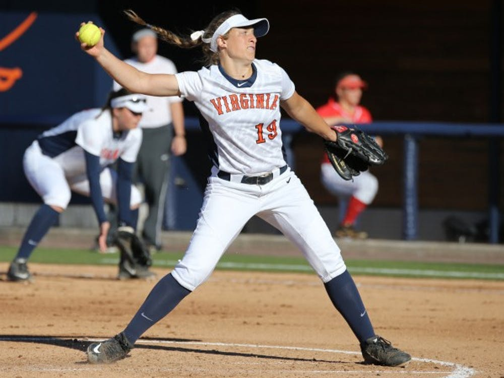 Freshman pitcher Erika Osherow, a bright spot for Virginia this season, struggled on the mound, surrendering five homers during Virginia Tech's 15-0 win in the second game of the series.