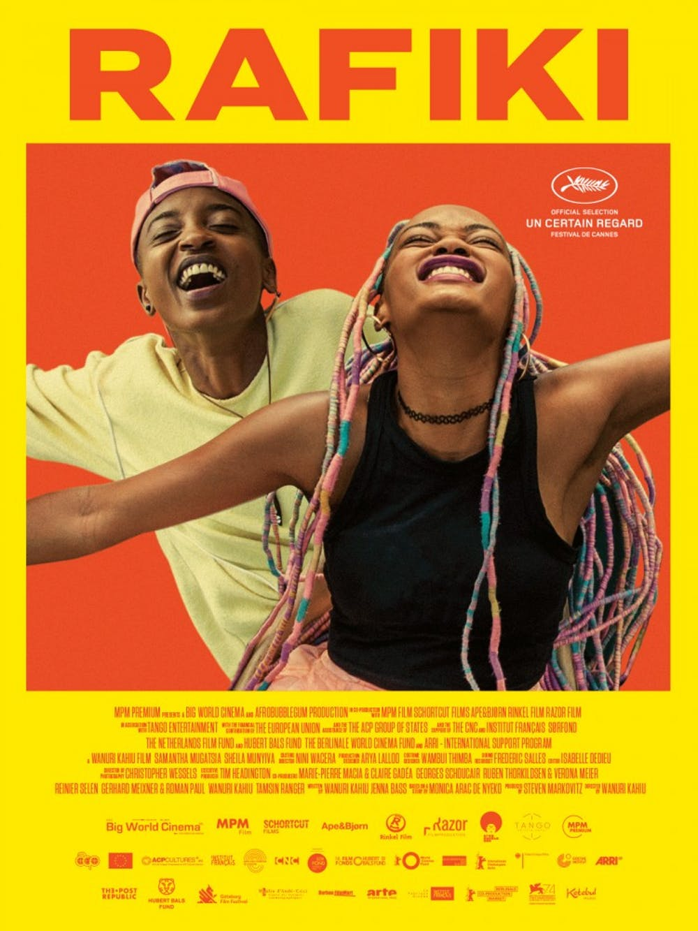 "<p>Kenyan director Wanuri Kahiu's latest film, ""Rafiki,"" is a harrowing yet hopeful lesbian romance.</p>"