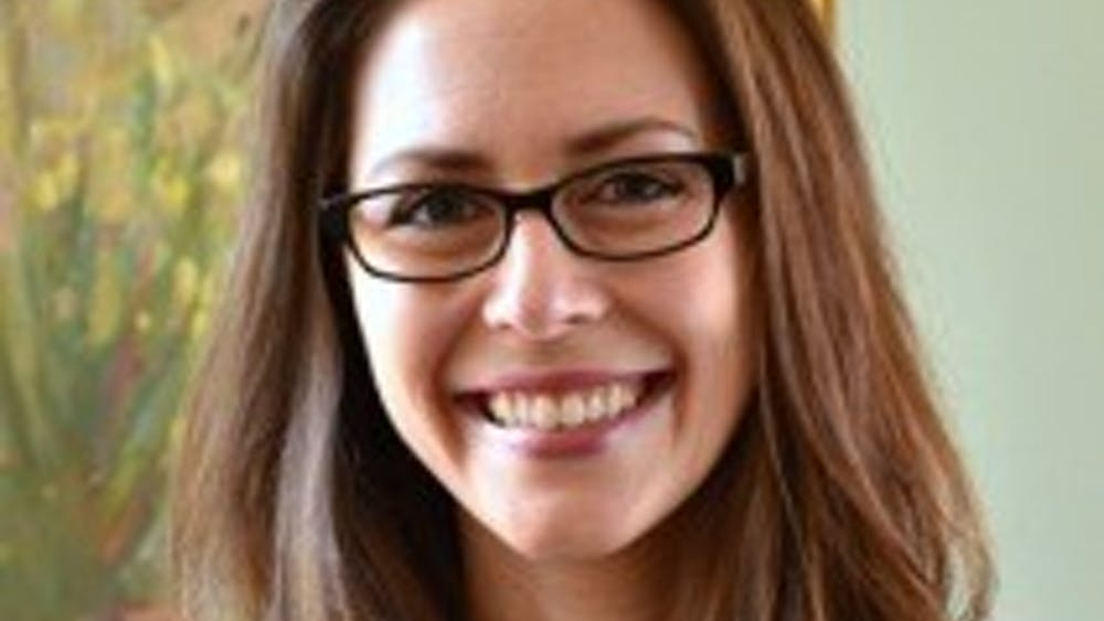WGS and Sociology Prof. Miranda Waggoner, above, joined the faculty in 2014.