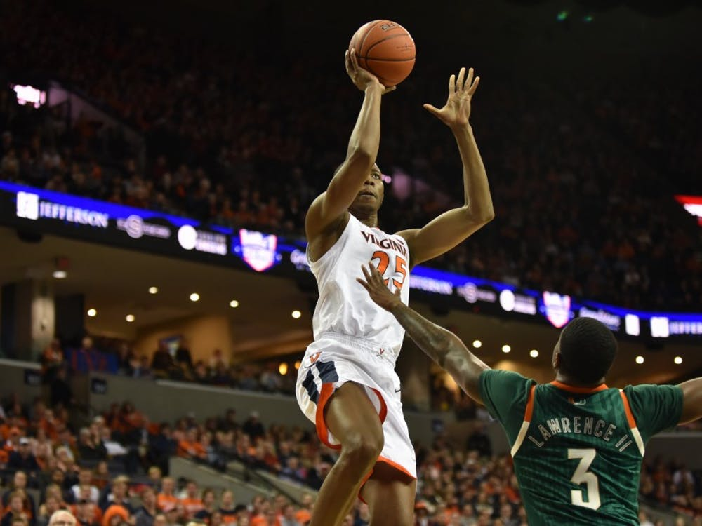 Junior forward Mamadi Diakite has averaged 10 points per game over the Cavaliers' last four games.