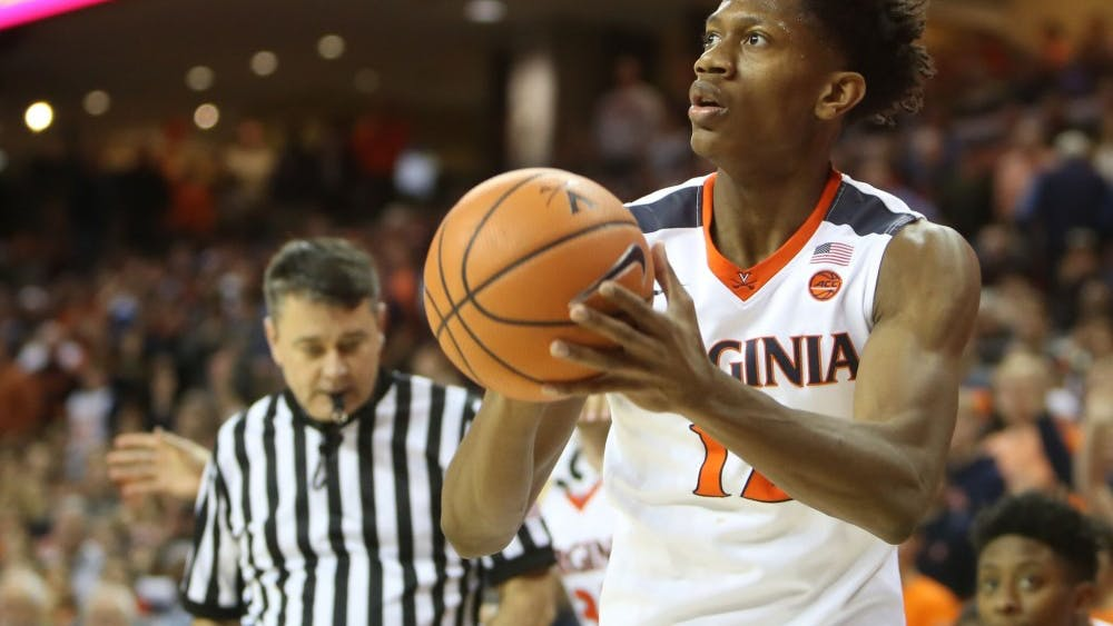 Sophomore guard De'Andre Hunter has the most NBA potential of anyone currently on the men's basketball team.