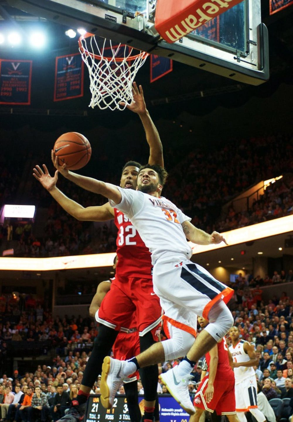 <p>Though Perrantes led the Cavaliers in scoring against Virginia Tech, his uncharacteristic free throw woes hurt the team down the stretch.</p>