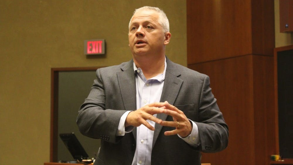 Republican Denver Riggleman will represent the largest House district in Virginia.