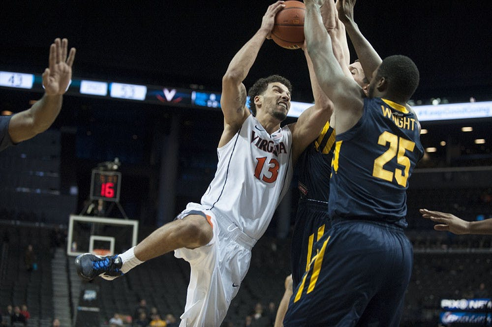 <p>Junior forward Anthony Gill was named Barclays Center Classic MVP after averaging 14 points and eight rebounds in Virginia's four wins.</p>