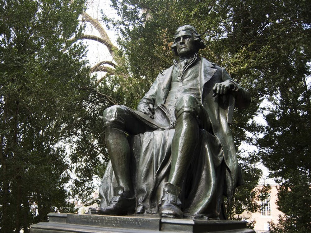 As the University celebrates Founder's Day — Thomas Jefferson's birthday on April 13 — it is important to keep in mind the complex legacy he left behind.