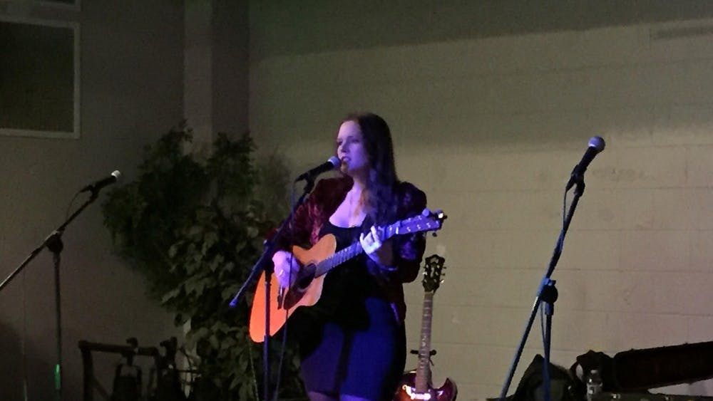 The event featured performances from a number of local musical acts, including the Charlottesville Women's Choir and Erin and the Wildfire.
